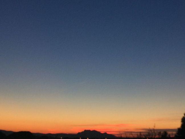 Just for colors Sunset Beauty In Nature Sky Coucher De Soleil ☀️ SSoleil CouchantsSoleilCCIELFIEsSkyfie