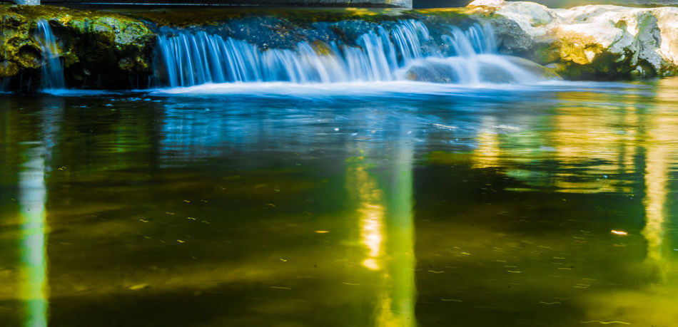 Beauty In Nature Blurred Motion Day First Eyeem Photo Happy Long Exposure Motion Nature No People Outdoors Scenics Tranquil Scene Tranquility Tree Water Waterfall