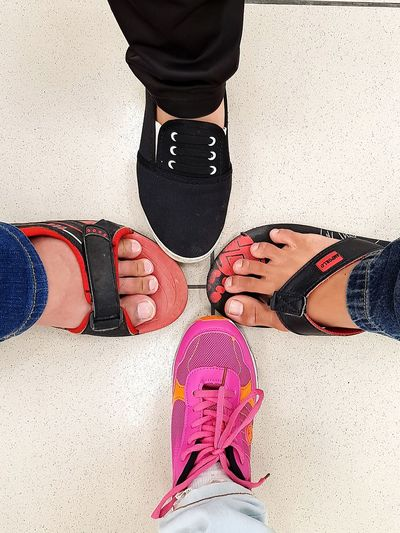 Legs,shoes and slippers. Shoes Slippers Lover Human Body Part One Person Low Section Adult People Human Leg Adults Only