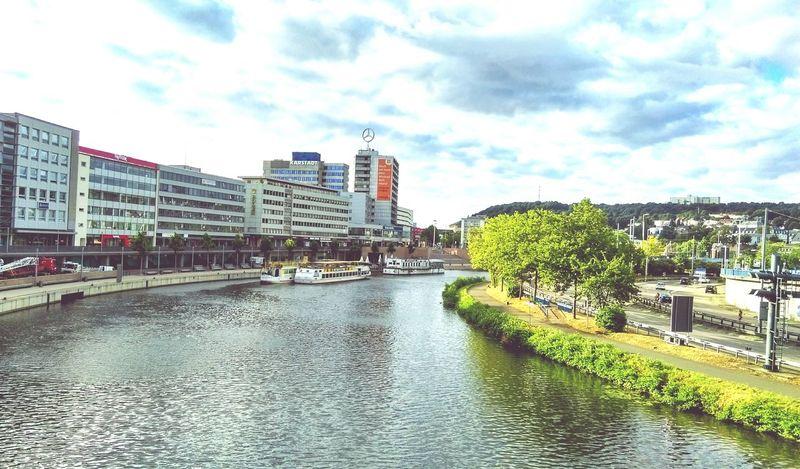 GERMANY🇩🇪DEUTSCHERLAND@ Landscape City Germany Saarland Saar Riverside Cityscapes Buildings Taking Photos