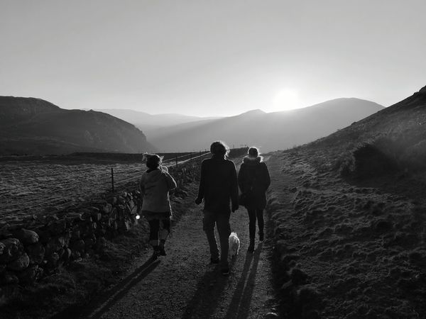 Nice walk in the mountains Mountain Landscape Nature Mountain Range Outdoors Togetherness Friendship People Beauty In Nature Walesonline Wales You Beauty Leicacamera Huawei Huaweiphotography Monochrome World Huawei P9 Leica HuaweiP9 Betterlandscapes