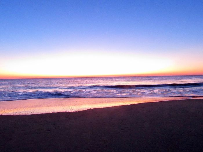 Sunrise on the