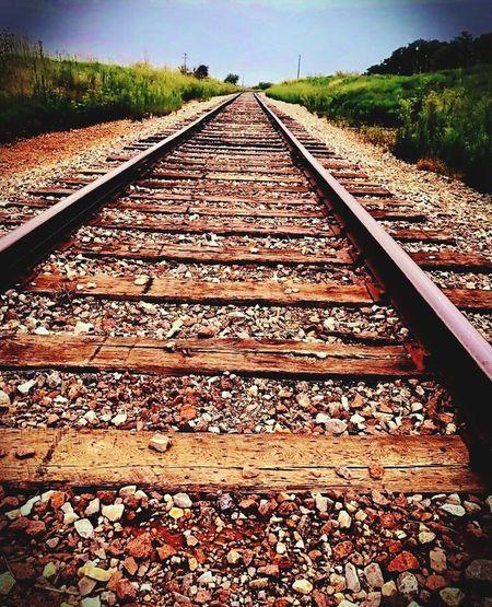 Railroad Track Taking A Trip Next Adventure memories The Week On EyeEm