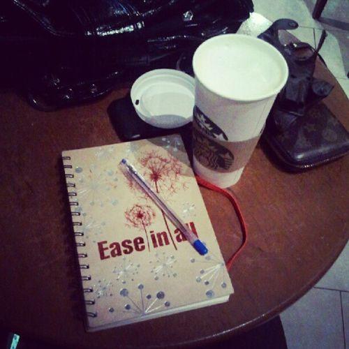 Старбакс и мысли Starcks Coffee Diary Notebook