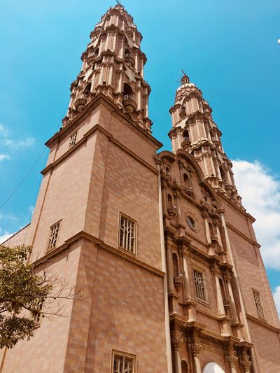 Cathedral Church Architecture Low Angle View Built Structure Building Exterior Religion History Travel Destinations Day Outdoors Sky Clock No People Clock Tower Spirituality Place Of Worship