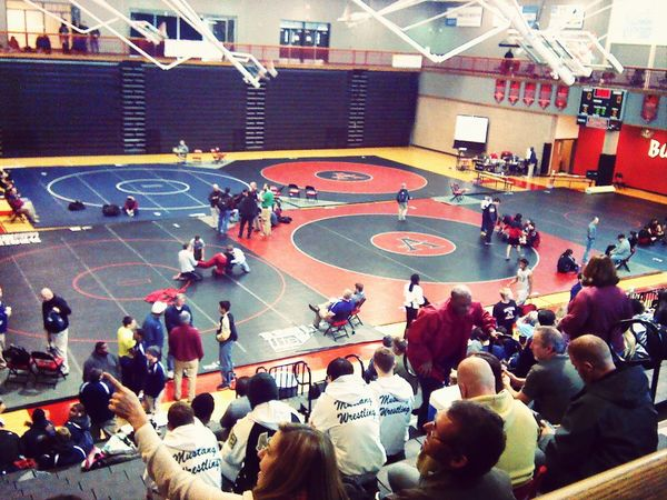 wrestling Wrestling Sectionals