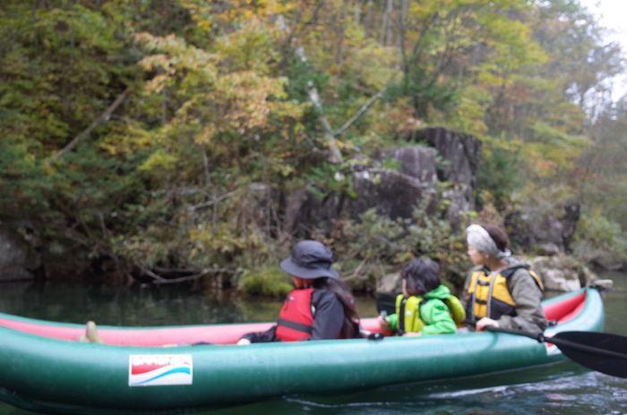 秋のできごと。 Kayak Grabner 自然湖