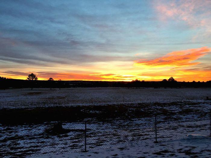Sunrise Colorado Hello World