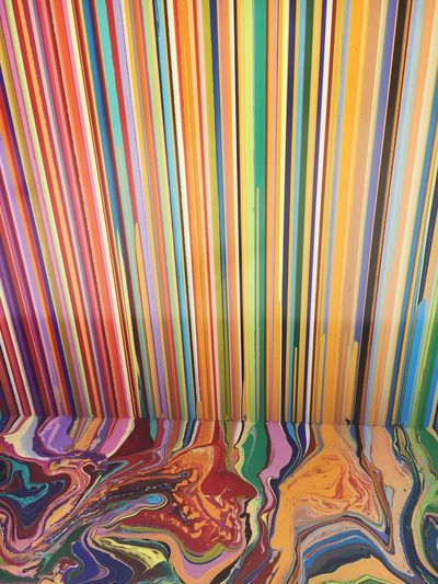 Multi Colored Pattern Full Frame Backgrounds Textile No People Variation Indoors  Spectrum Close-up Day Venice, Italy ArtWork Biennale