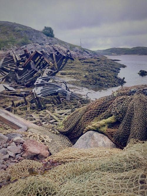 Abandoned Fish Teriberka Sail Boat Rotten Skull Monster Dead Monster Deadline
