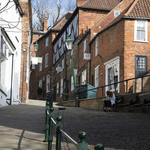 Been There. City Architecture Outdoors Lincoln Lincolnshire United Kingdom Steep Hill Building Exterior Travel Destinations History