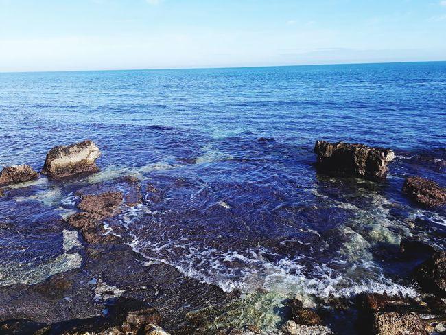Sea Nature Beauty In Nature Water Scenics Horizon Over Water Beach