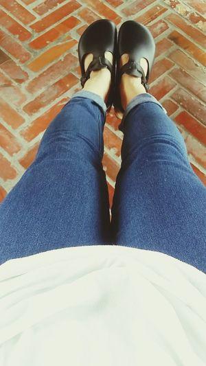 米蟲日記 倒數w20 Birkenstock 新鞋心情好 白衣 牛仔褲 黑鞋 My Style