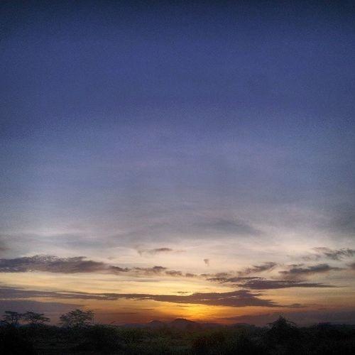 Earlier today,Another soundowner Kawayaplains Sunset Africa S2