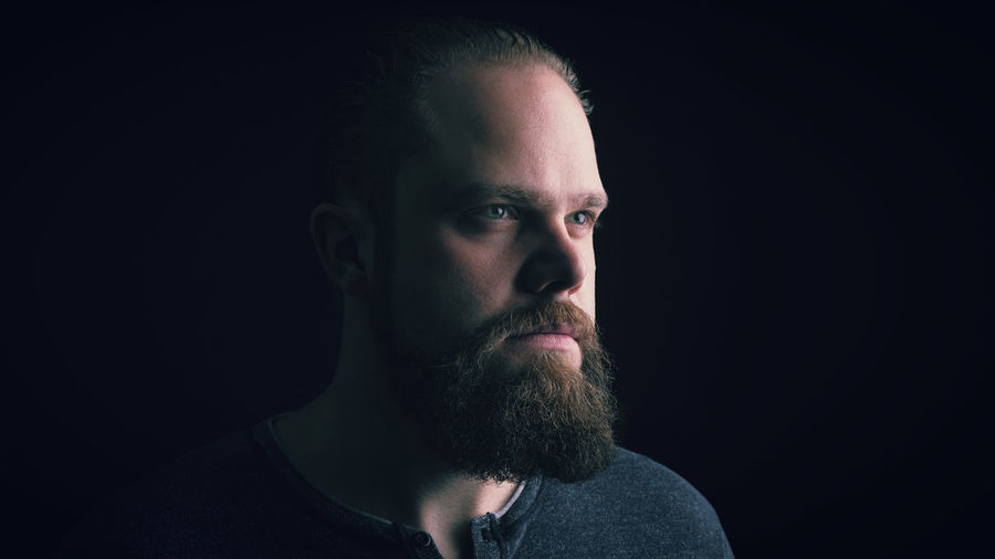 A selfie i did a while ago in our living room Adult Adult Adults Only Beard Bearded Black Background Close-up Day Eye4photography  Headshot Human Face Light And Shadow Men One Man Only One Person Only Men People Photography Portrait Portrait Photography Real People Rembrandt Studio Shot Yolo Young Adult