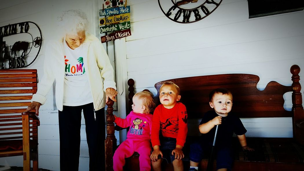 EyeEm Selects Human Representation Friendship Innovation Investing In Quality Of Life The Week On EyeEm Happiness Personal Perspective Just Thought This Pix Was Neat! Creativity ..live Today.. Growth Tranquility Rural Scene Breathing Space EyeEm Selects This pix was takin by her grandkids and greatgrankids, which make the babies Great. Great and i think a Great Great Grandchild at 94 years young. This picture was taken shorly before she made the beautiful trip to Heavenly Father.. We all love and miss you miss Bestie! Lost In The Landscape Connected By Travel Second Acts 3XSPhotographyUnity 3XSPUnity Fashion Stories Be Brave
