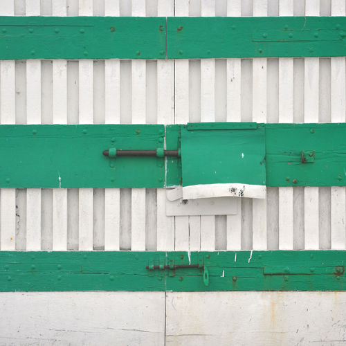 White green door Ancona Architecture Backgrounds Built Structure Day Detail Door DoorsAndWindowsProject Green Color Italy Lock No People Outdoors Passetto Security White Green Wood - Material Wooden Door
