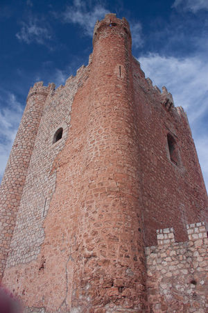 Architecture Blue Building Exterior Built Structure Castle Cloud Cloud - Sky Day History Low Angle View No People Old Old Castle Outdoors Sky Tall Tall - High The Past Tower Wall - Building Feature Weathered
