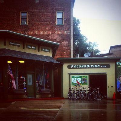 Pocono Biking Biking Mauchchunk Poconos Mountainbiking townsquare broadway coalbelt trb_members1 pennsylvania