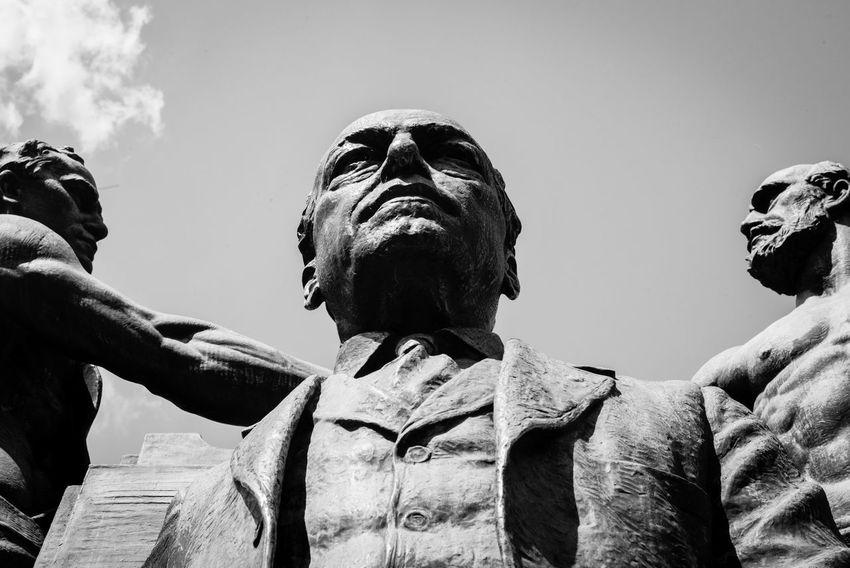 DC Gompers Samuelgompers Sculpture Sky Statue Washington Washington, D. C.