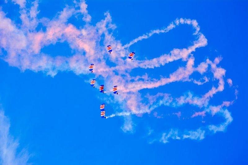 """""""wheel back round for one more pass"""" Sunderland Air Show 2014 Air Show Parachutes Taking Photos"""
