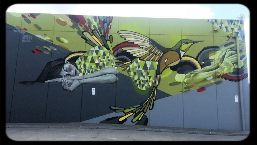 Streetart Bonsai Mural Twoone Sofles