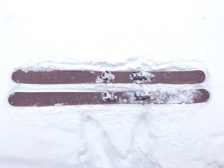 Enlain skis handmade BuildYourOwn Laax