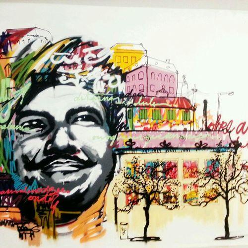 Miradouro do mercado do loureiro Street Art/Graffiti
