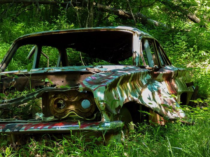 MeinAutomoment Abandoned Classic Car stumbled upon this this classic on a walk through the forest. And I thought to myself I wonder the places this car has seen in its day. And which road it has roared down. Urban Nature Taking Photos Drive Neverstopshooting
