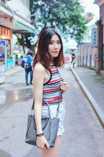 She is My Girlfriend <3  Check This Out Chinese Girl Beautiful Girl Chongqing Chongqing China Enjoying Life Taking Photos Hello World Cheese!