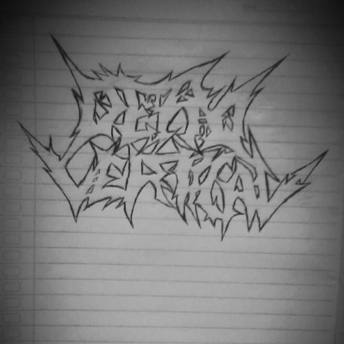 Yuhuuu.... DEADVERTICAL Font Band Draw likeforlike instadraw