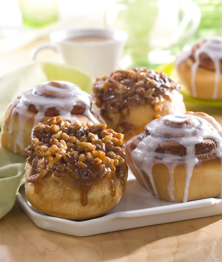 Sticky Buns Baked Breakfast Close-up Day Dessert Dessert Topping Fattening Food Food And Drink Freshness Icing Morning No People Outdoors Pecan Ready-to-eat Sugar Sweet Food