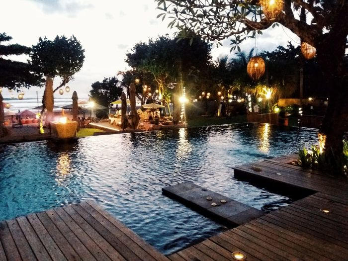 Outdoors Swimming Pool Water Taking Photos Architecture Exterior Beach Day Hanging Out Ocean Sky And Sea Vacations Togetherness Family Cloud - Sky Flowers,Plants & Garden Freshness Sunset Bali, Indonesia