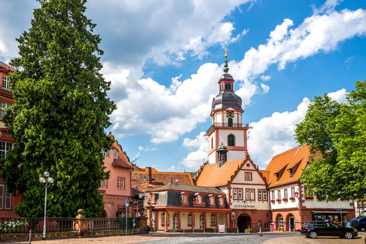 Erbach, Odenwald, Germany Architecture Church City Cityscape Odenwald  Travel Building Eberbach Erbach Michelstadt Monument No People Nobody Travel Destinations Village