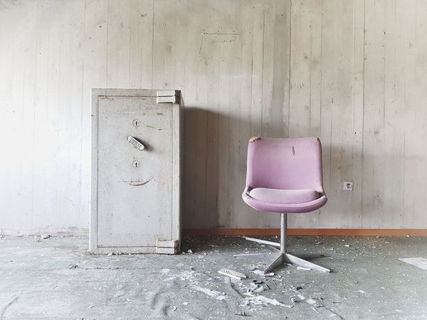 | Abandoned | Chair Broken I Luoghi Dell'abbandono Abandoned Places University Travel Photography Inside Architecture Close-up Creative Space The Still Life Photographer - 2018 EyeEm Awards The Architect - 2018 EyeEm Awards The Creative - 2018 EyeEm Awards The Traveler - 2018 EyeEm Awards