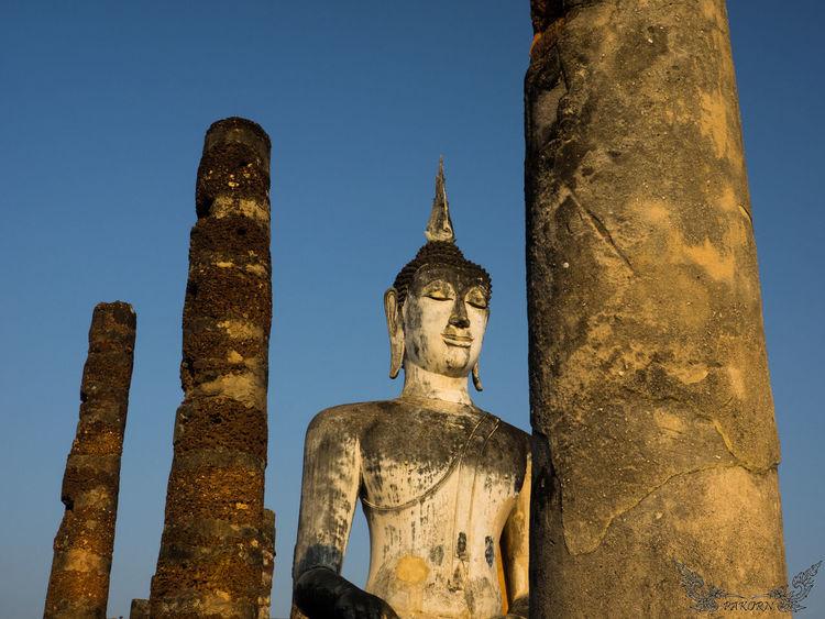 Architecture Buddha Buddha Statue Buddhism Buddhist Statue Place Of Worship Religion Thailand Sukhothaihistoricalpark Sukhothai Sukothai