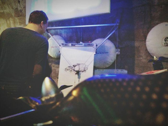 Make Makerfaire Drones 3D Printer Arduino
