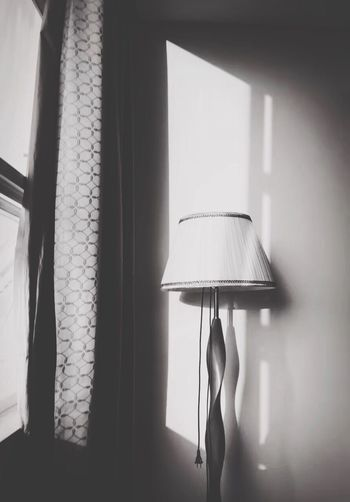 Lamp Shade  Light And Shadow Blackandwhite Sihouette  失眠