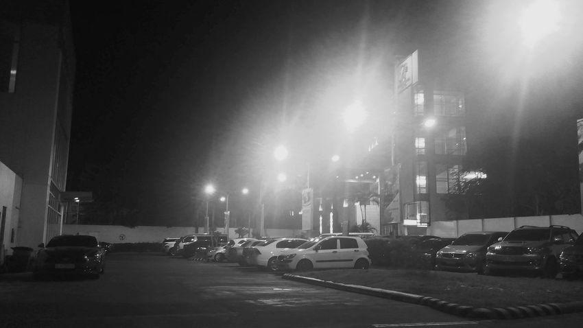 Black & White Night Lights Night Sky Citylights Amatuerphotography NohateJustlove