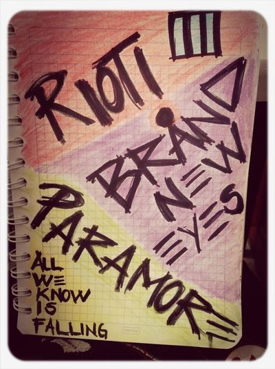 Listening To Music Of Paramore