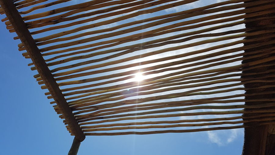 Striped No People Low Angle View Outdoors Sky Day Close-up Sun Sunlight Branches And Sky Branches And Sun Silouette Blue Sky Africa Namibia First Eyeem Photo Roof Nature Roof Wood - Material Scenics Silhouette Horizon Wide Angle