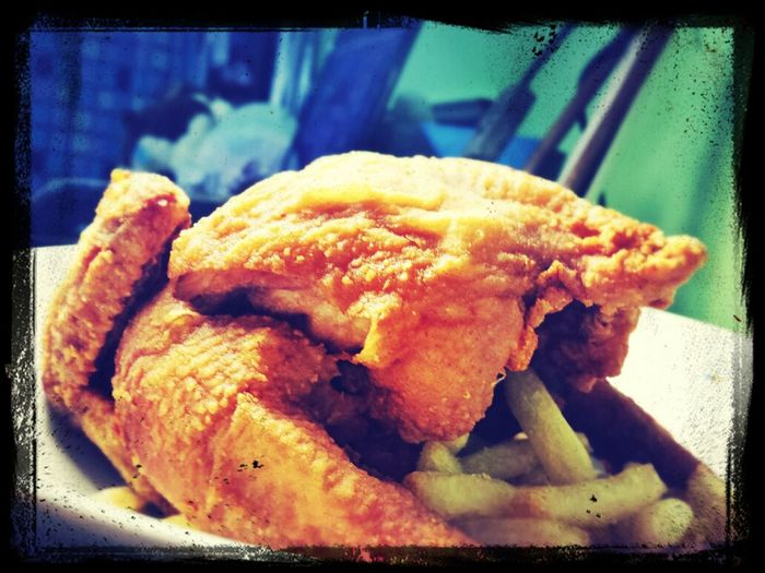 My dinner for for today Taking Photos Dinner Time Chicken Fried Chicken