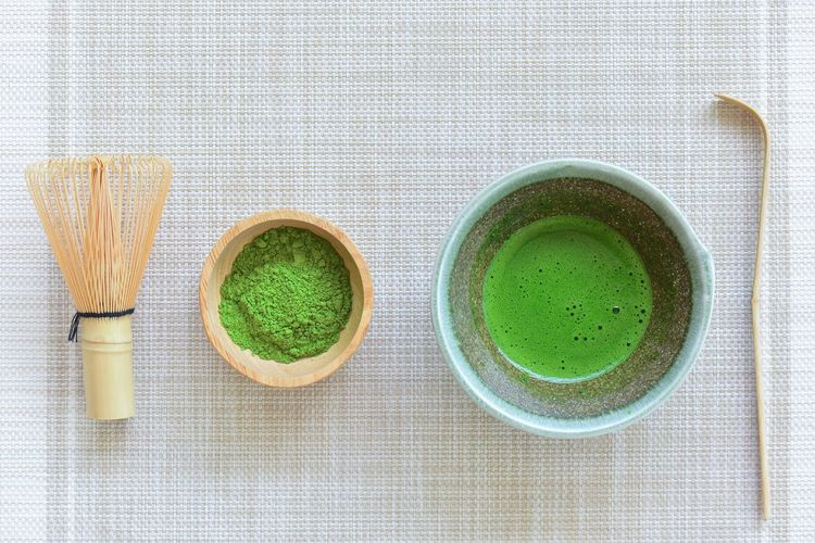 Matcha green tea Matcha Tea Green Color Food And Drink Matcha Tea Tea Food Green Tea Drink Hot Drink Tea - Hot Drink Refreshment Indoors  Freshness Ceremony High Angle View Wellbeing Healthy Eating Studio Shot Directly Above No People Tea Cup