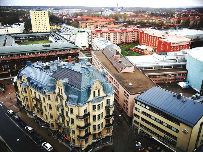 Örebro Örebro  Sweden City Cityscape Water High Angle View Architecture Building Exterior Sky Built Structure Skyscraper Residential District Residential Structure Urban Skyline TOWNSCAPE Settlement Skyline