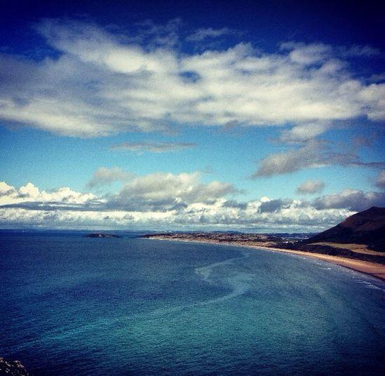 Beautiful Rhossili Ocean