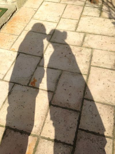 Shadows Light And Shadow Shadow Shadows Love Kiss ✌ French Garden Husband And Wife