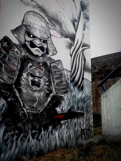 Costarica2016 Samurai Artecallejero Urbano Graffiti Natural