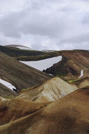 The painterly hills of Iceland. Hiking Iceland Landscape_Collection Nature Beauty In Nature Cloud - Sky Hills And Valleys Iceland_collection Landmannalaugar Landscape Landscape_photography Mountain Nature_collection Outdoors Scenics