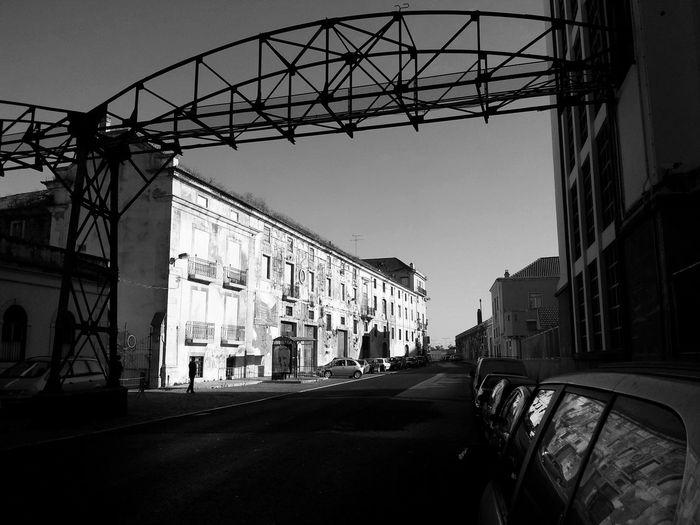 Beato Lisbon Structures Blackandwhite