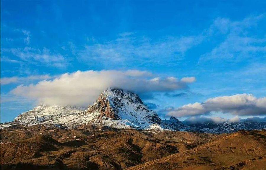 Mountain Snow Mountain Peak Sky Landscape Mountain Range Cloud - Sky